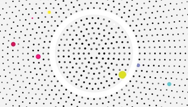 Fond de vecteur sombre avec des bulles. belle illustration colorée avec des cercles flous dans le style de nature.