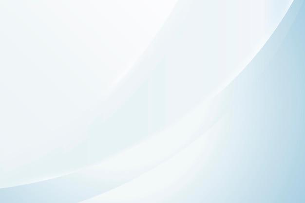 Fond de vecteur vague dégradé abstrait bleu