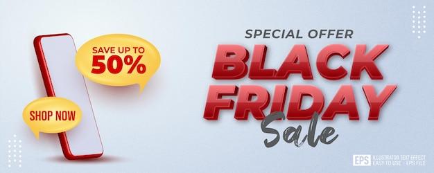 Fond de vendredi noir super vente pour promouvoir votre entreprise