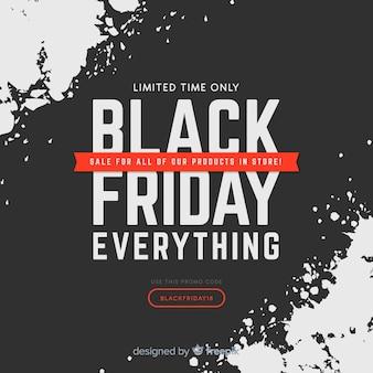 Fond de vendredi noir