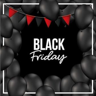 Fond vendredi noir