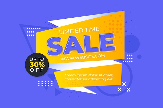 Fond de vente coloré asbtract