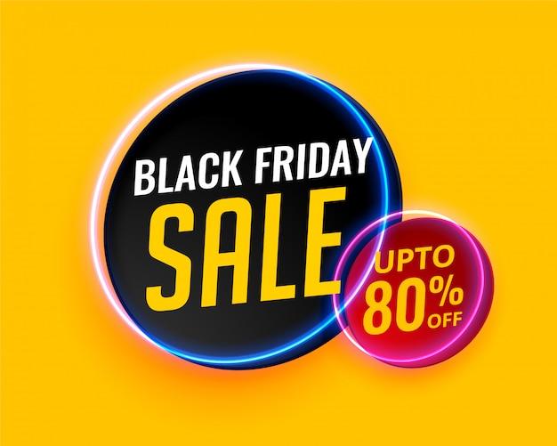 Fond de vente créative moderne vendredi noir