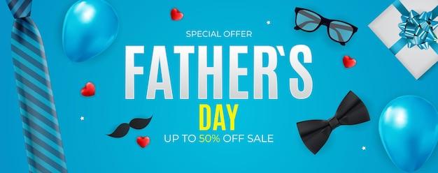 Fond de vente de fête des pères