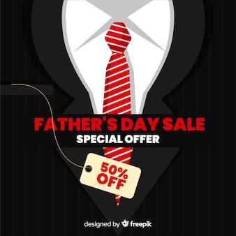 Fond de vente de la fête des pères