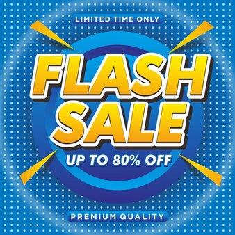 Fond de vente flash minimal vecteur gratuit