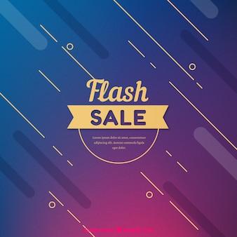 Fond de vente flash moderne abstrait