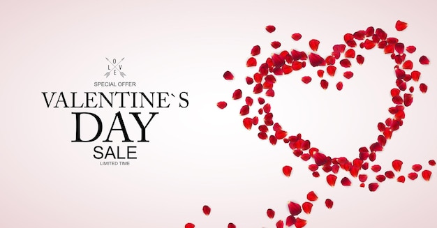 Fond de vente happy valentines day.
