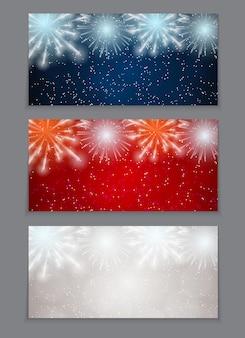 Fond de vente de noël et du nouvel an, modèle de coupon de réduction. illustration vectorielle eps10
