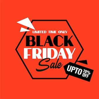 Fond de vente vendredi noir avec détails de l'offre