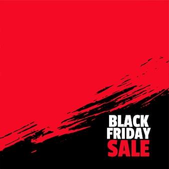 Fond de vente vendredi noir avec espace de texte