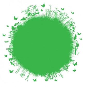Fond vert environnemental
