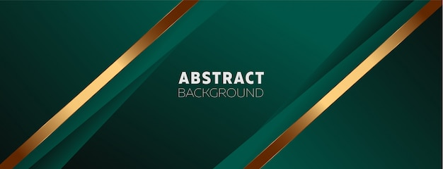 Fond vert foncé avec des éléments abstraits