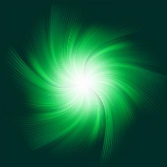 Fond vert twirl. fichier inclus