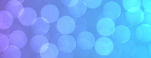 Fond vibrant avec effet de lumière bokeh