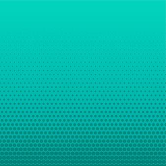 Fond vide de points de demi-teintes turquoise