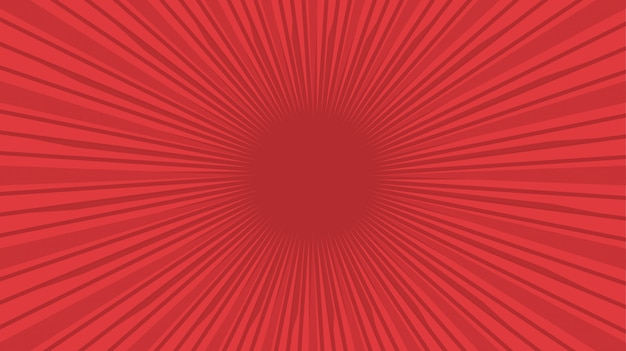 Fond vintage rouge comique