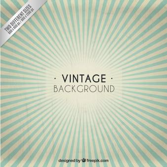 Fond vintage sunburst