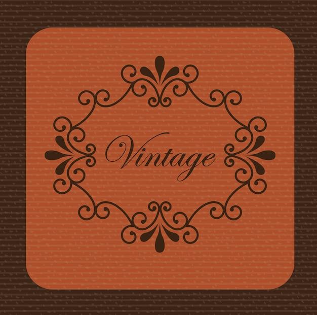 Fond vintage