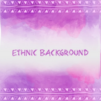 Fond violet ethnique