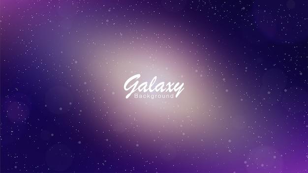 Fond violet galaxie