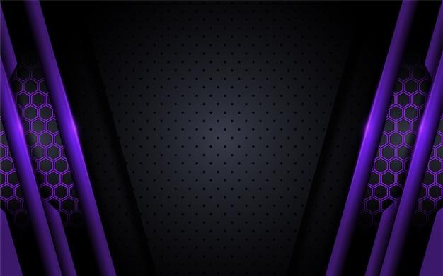 Fond violet moderne avec style abstrait