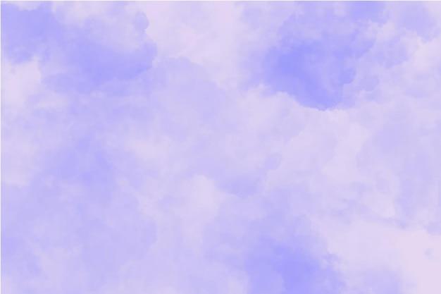 Fond violet nuageux