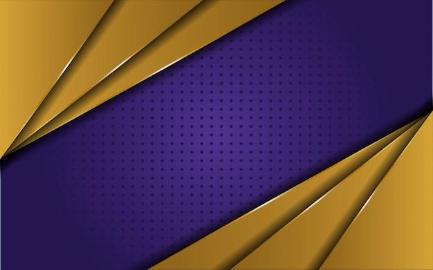 Fond violet d'or de luxe