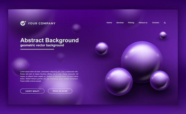 Fond violet pour les conceptions de votre site web.