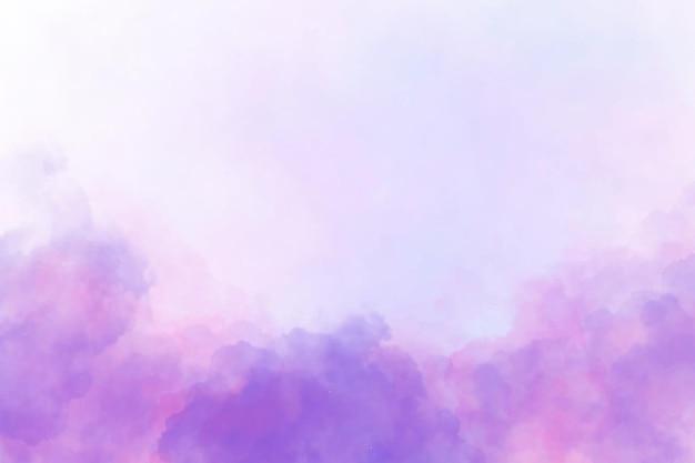 Fond violet et rose nuageux