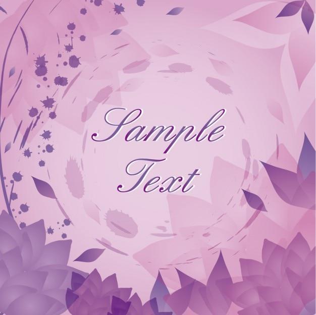 Fond violet / rose