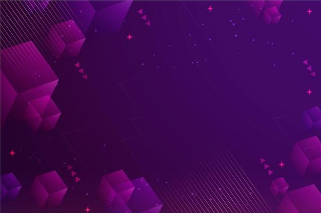 Fond violet de technologie dégradée