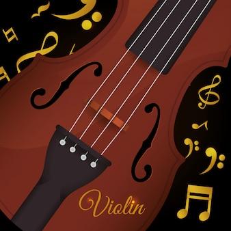 Fond de violon