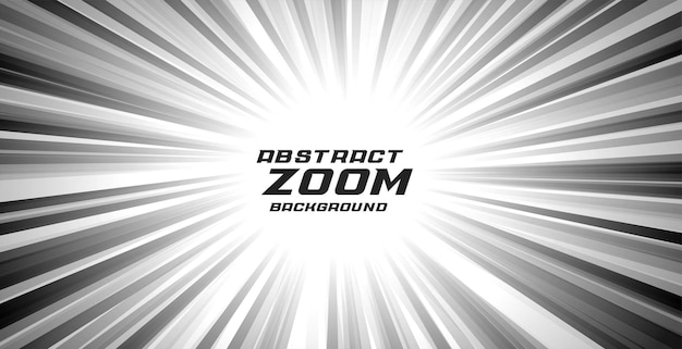 Fond de vitesse de zoom comique abstrait