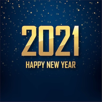Fond de voeux de bonne année 2021