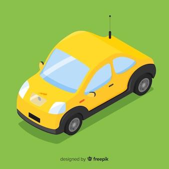 Fond de voiture électrique