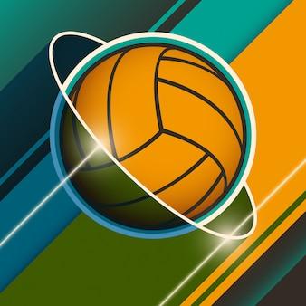 Fond de volleyball
