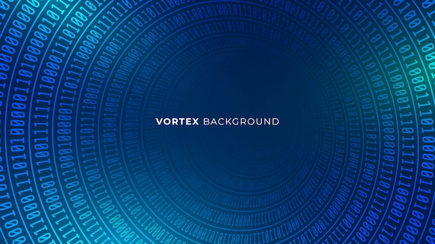 Fond de vortex bleu