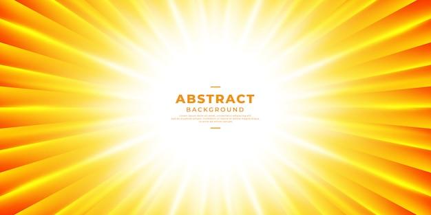 Fond de zoom abstrait soleil