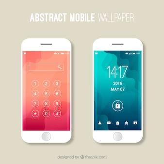 Fonds d'écran mobiles abstraits