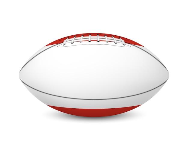Football avec le drapeau de l'autriche, isolé sur fond blanc.