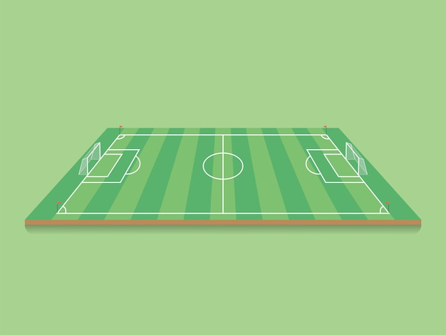 Football, terrain de football.