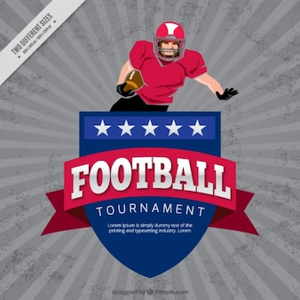 Football vintage championnat fond