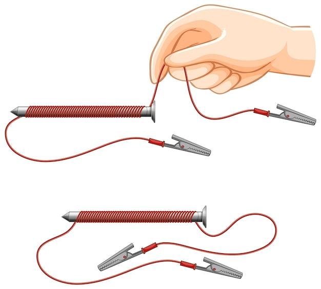 Force de la science expérimentale des électroaimants