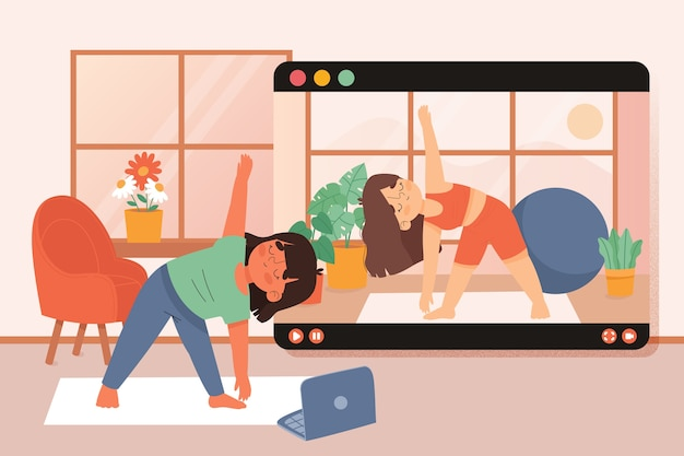 Formation au concept de sport à domicile