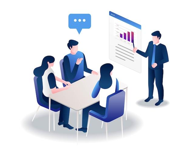 Formation et discussion avec l'équipe
