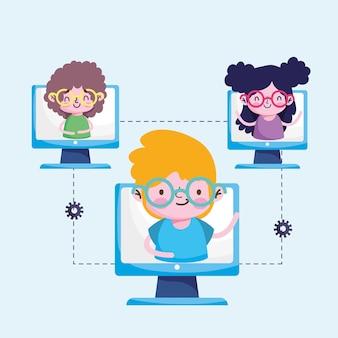 Formation en ligne des étudiants