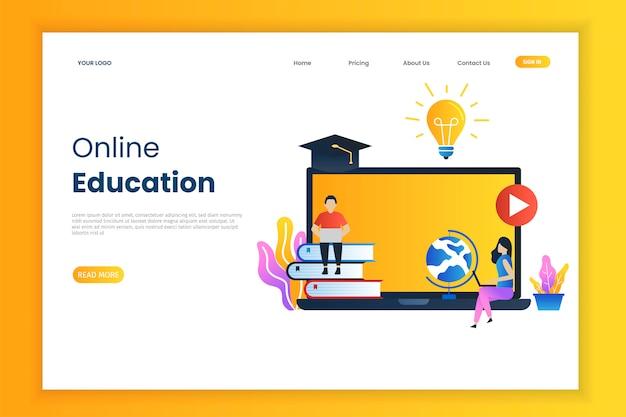 Formation en ligne pour la page de destination
