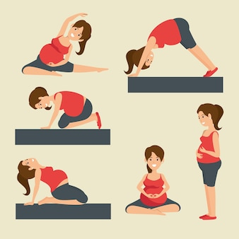 La formation de yoga pour une grossesse en santé