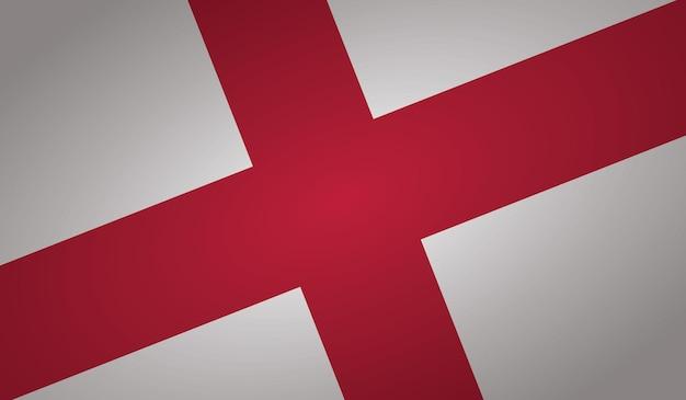 Forme d'angle de drapeau d'angleterre